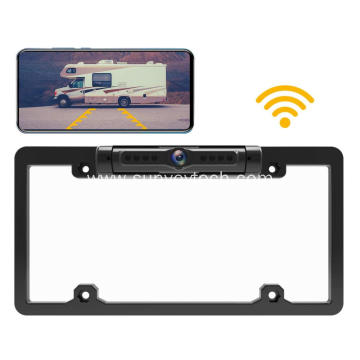 License Frame Camera WiFi
